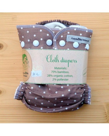 Bamboo fleece - cotton cloth diaper