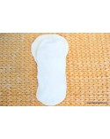 Hemp organic cotton inserts set with snaps
