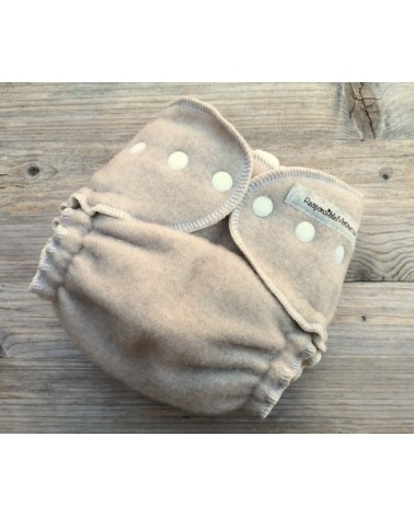 3pc linen - hemp cloth diaper set/pack + wool diaper cover for free / S-M / pocket cloth nappy with insert