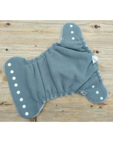Merino wool fabric gray color 270X83cm piece