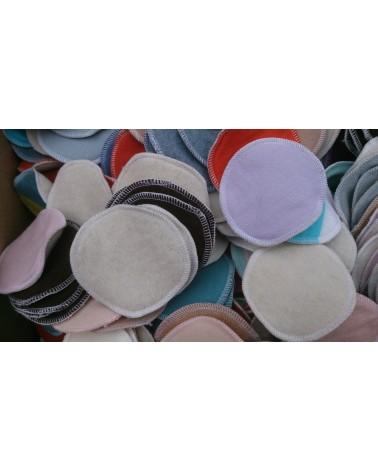 20 pair of 100% merino wool nursing, breastfeeding pads, mixed colors