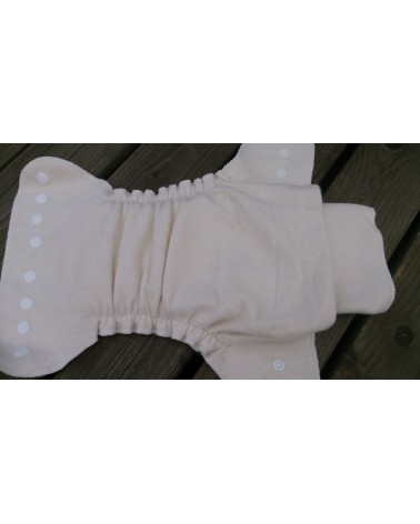 """All-in-one"" diapers with PUL fitted panties"
