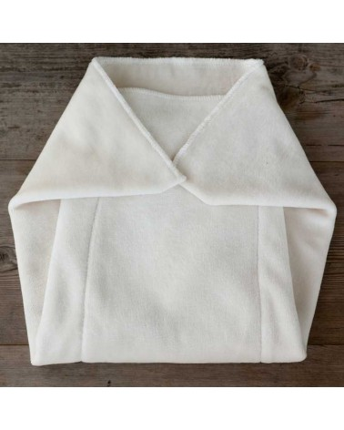 organic hemp cotton prefold insert