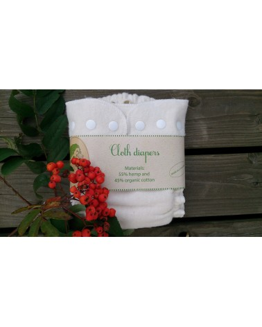 Hemp, organic cotton cloth pocket diaper