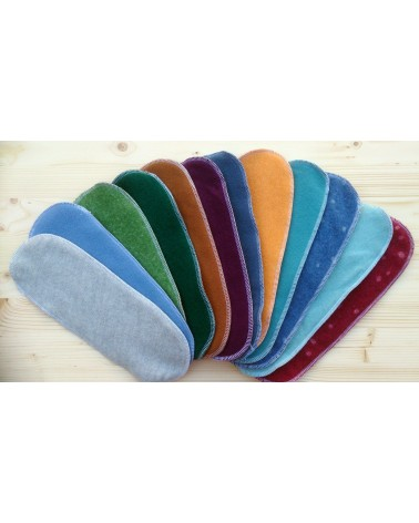 100% soft merino two-layer wool inserts for cloth diapers